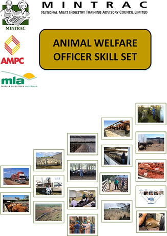 Animal Welfare Officer Skill Set for Meat Processing Plants (Fourth Edition)